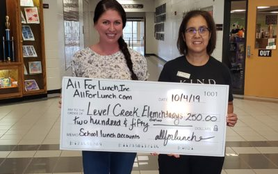 TGIF! Level Creek Elementary is now Lunch Debt Free!